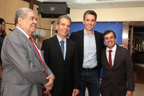 Joezil Barros,Alberto Feitosa, Felipe Carreras e Adailton Feitosa Crédito: Nando Chiappetta/DP/D.A Press