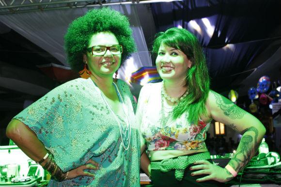 Lala K e Allana Marques. Crédito: Aryella Lira / Vagalume