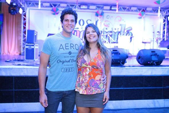 Ramon e Larissa Trindade. Crédito: João Gonçalves