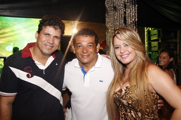 Antonio Resente, Vado e Michele Melo - Crédito: