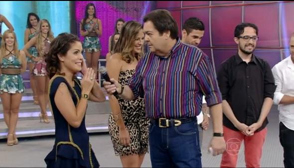 Bella  - Crédito: Reprodução vídeo TV Globo