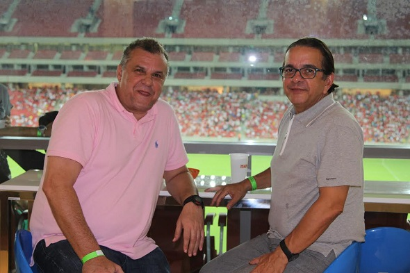 Geraldo Cisneiros e Antônio Lavareda - Crédito: Ricardo Ecki/Divulgação