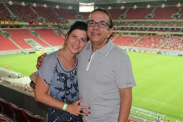 Carla Bensoussan e Antônio Lavareda - Crédito: