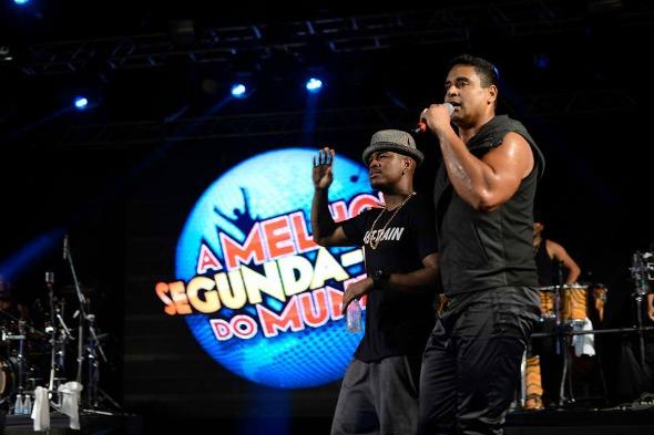 Ne-yo e Xandy Crédito: Elielson Pita e Eder Mota/Divulgação