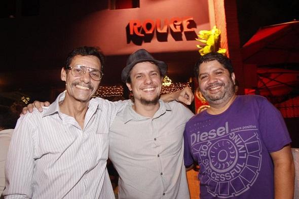Nuca Sarmento, Victor Camarote, Alexandre Ramos - Crédito: Aryella Lira/Divulgação