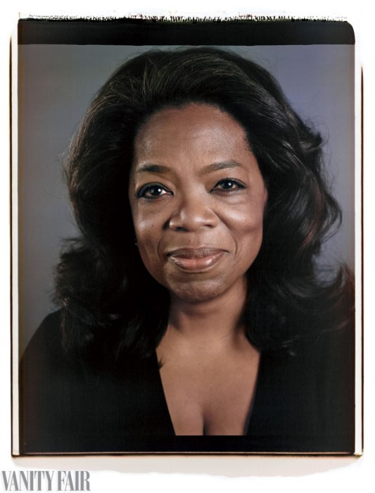 Oprah Winfrey - Crédito: Vanity Fair/Divulgação