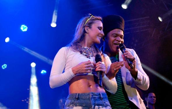 Claudia Leitte e Carlinhos Brown - Crédito: Fred Pontes/Divulgação