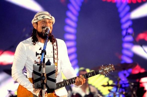 Bell vive os últimos momentos na banda Chiclete com Banana – Crédito: Fred Pontes/Divulgação