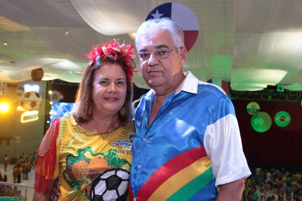 Suely e Antônio Moraes Crédito: Nando Chiappetta/DP/D.A Press