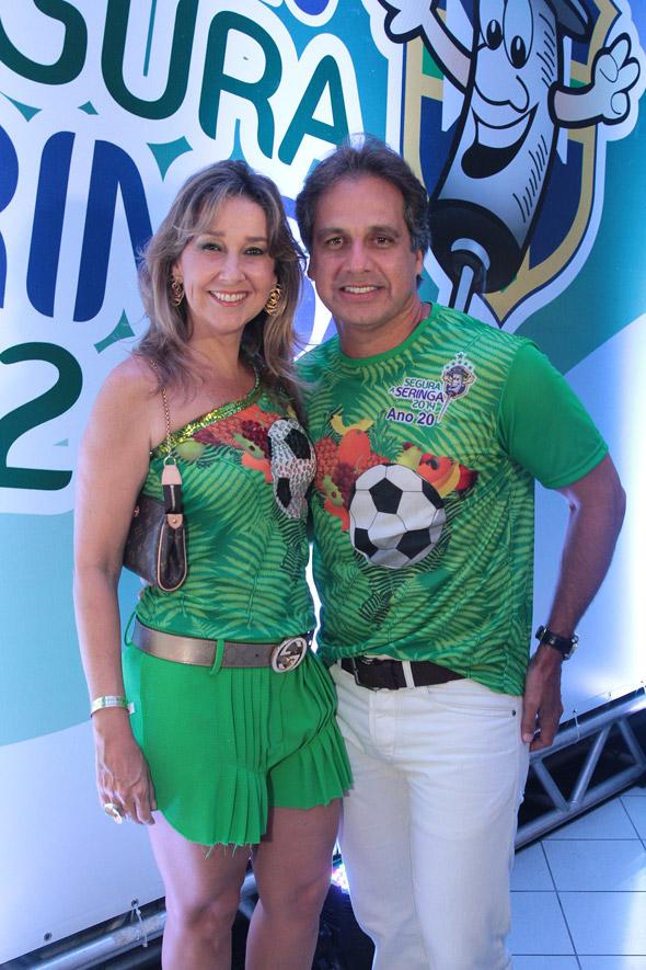 Silvana e Sérgio Arruda Crédito: Nando Chiappetta/DP/D.A Press