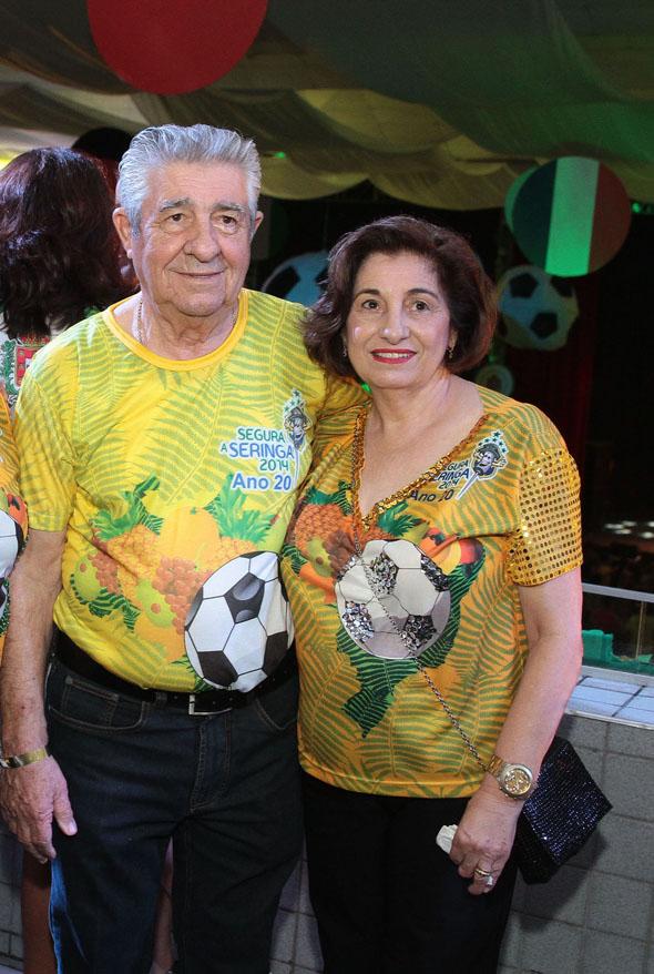 Alberto Ferreira da Costa e Carmen  Crédito: Nando Chiappetta/DP/D.A Press