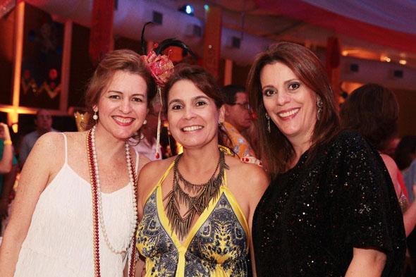 Carmen Vaz, Isabel Cristina e Cláudia -  Crédito: Nando Chiappetta/DP/D.A Press