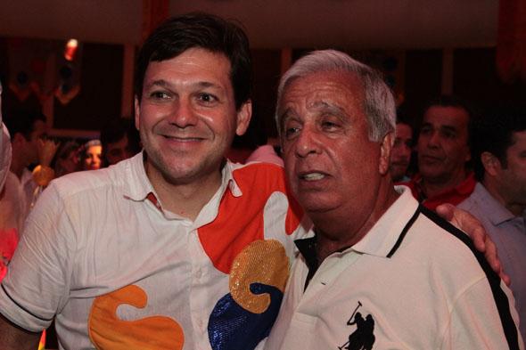 Geraldo Julio e Edgar Moury Fernandes - Geraldo Julio e Edgar Moury no Projeto 50 Crédito: Nando Chiappetta/DP/D.A Press