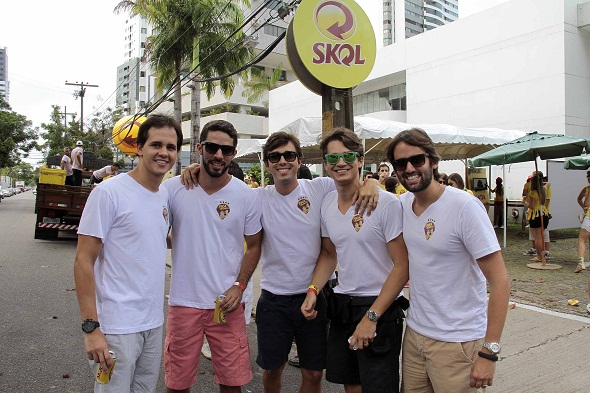 Os produtores do agito - Crédito: Gleyson Ramos/Divulgação