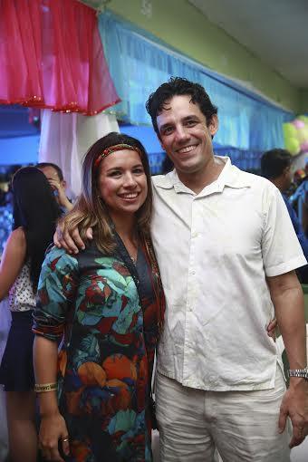 Rebeca e Daniel Coelho - Crédito: Bernardo Dantas/DP/D.A Press