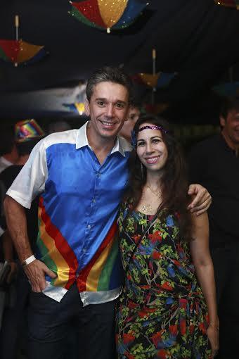 Felipe Carreras e Fabiana- Crédito: Bernardo Dantas/DP/D.A Press