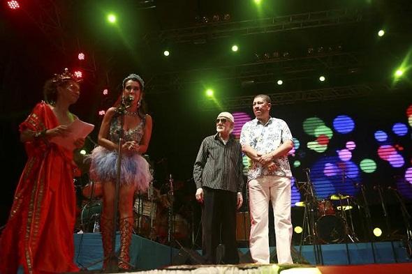O maestro Ademir Araújo foi um dos homenageados - Crédito: Bernardo Dantas/DP/D.A Press