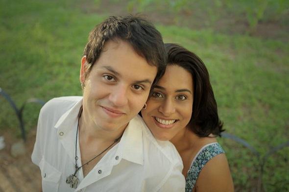 Thiago Hoover e Vanessa Oliveira - Crédito: arquivo pessoal