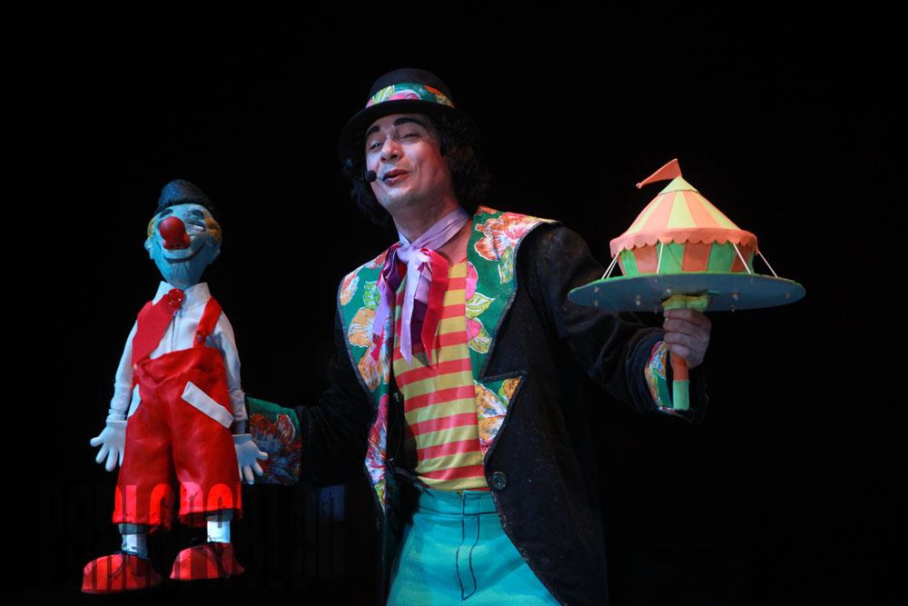 Parlapatões: Clássicos do Circo em cartaz no Recife Crédito: Parlapatões/Divulgação