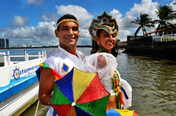 Passistas vão dançar com os foliões no Bloco do Rio Crédito: Rodrigo Cavalcanti/Divulgação