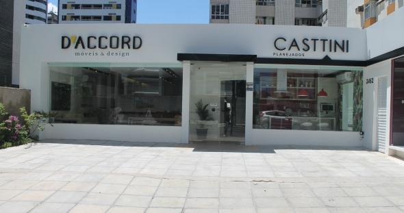 Fachada da D'Accord&Casttini Crédito: Divulgação/D'Accord&Casttini