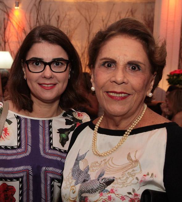 Marcelle Farias e Geralda Farias - Crédito:Nando Chiappetta/DP/D.A Press