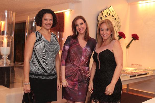 Usha Pitts, Sophia Lins e Lucinha Cascão - Crédito:Nando Chiappetta/DP/D.A Press