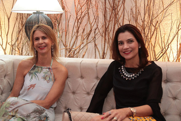 Roberta Dubeux e Sandra Norões - Crédito:Nando Chiappetta/DP/D.A Press
