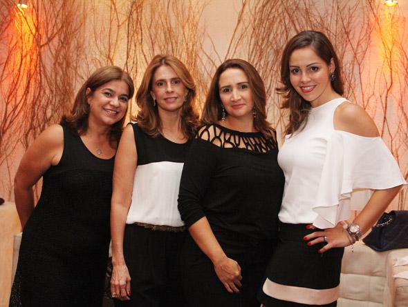 Gardênia Mendes,Verônica Paschoal, Aurea Arraes e Luana Negromonte - Crédito:Nando Chiappetta/DP/D.A Press