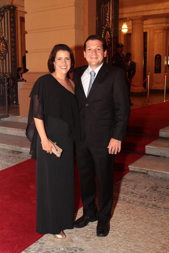 Cristina e Geraldo Julio - Crédito: Nando Chiappetta/DP/D.A Press