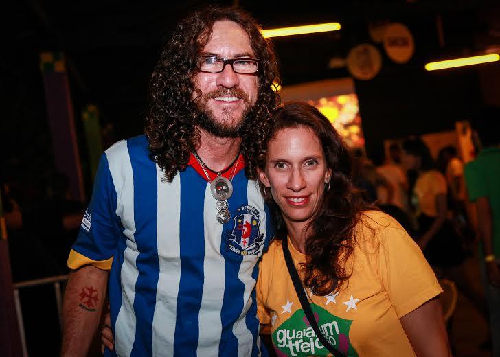 Silvério Pessoa e Karina Hoover curtiram a festa Crédito: Paloma Amorim/Divulgação