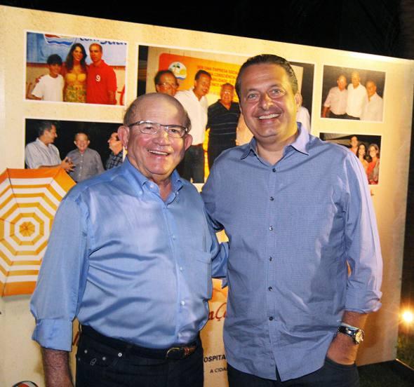 Eustácio Vieira e Eduardo Campos
