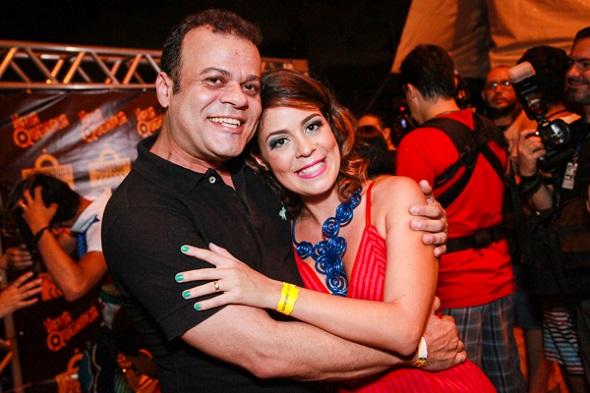 Daniel Rolim e Bella Maia - Crédito: Paloma Amorim/Divulgação