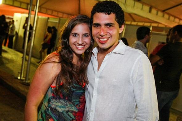 Eduarda Campos e Thomaz Alencar - Crédito: Paloma Amorim/Divulgação