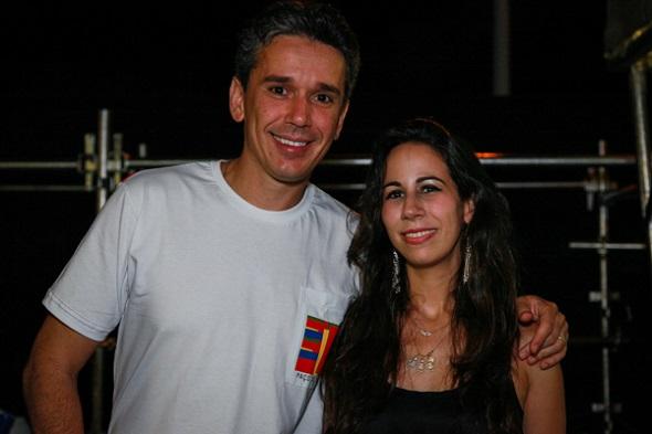 Felipe e Fabiana Carreras - Crédito: Paloma Amorim/Divulgação