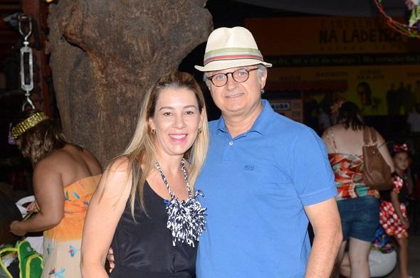 Germana e Eduardo Carvalheira - Crédito: Regina Coeli /Divulgação