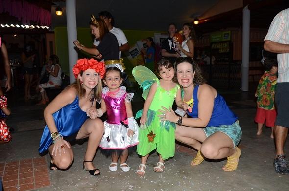 Renata, Duda, Maria Alice e Renata Monteiro -