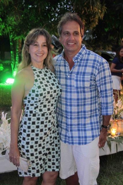 Silvana e Sergio Arruda - Crédito: Gleyson Ramos/Divulgação