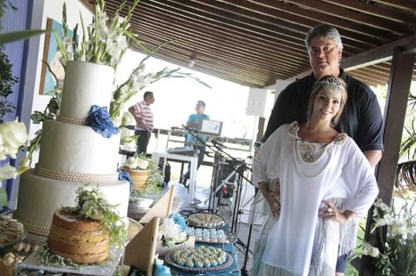 Karol e Ademar Rigueira - Crédito: Gleysom Ramos/Divulgação