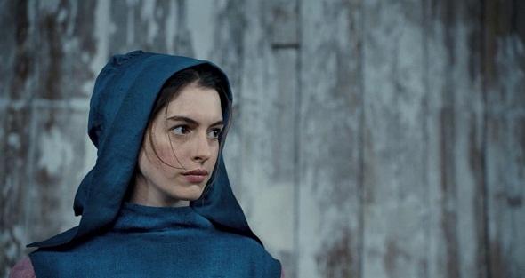 Anne Hathaway em Os Miseráveis, filme que lhe rendeu o Oscar de Melhor Atriz Coadjuvante - Crédito: Divulgação do filme