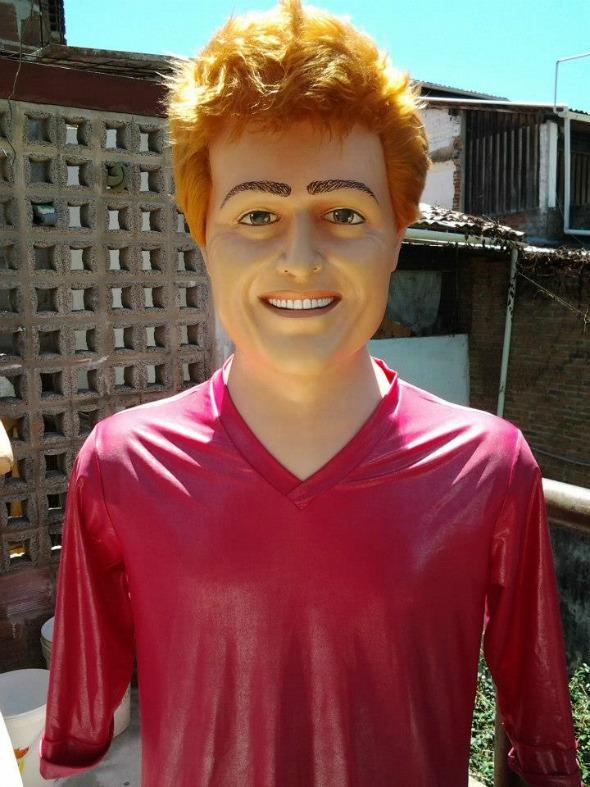 Boneco Gigante do bloco Menino Rosa em Olinda - Crédito: Divulgação