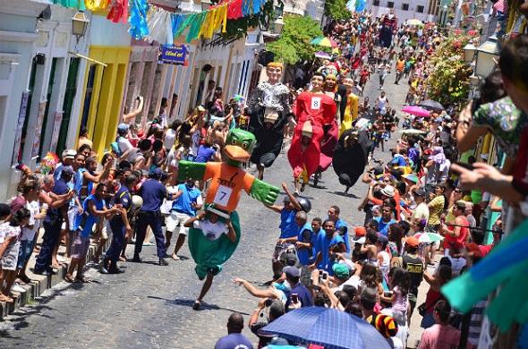 Corrida de Bonecos Gigantes - Crédito: Jan Ribeiro/Divulgação