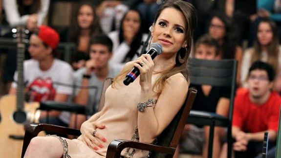 Sandy Crédito: TV Globo/Altas Horas