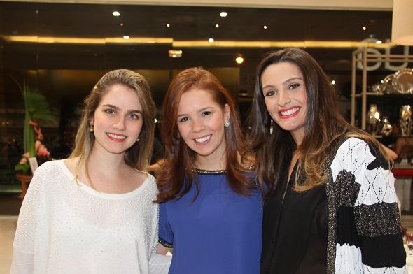 Camila Paes, Cecilia Pinto Coelho e Ana Maria Pimenta - Crédito: Thuany Ferreira/Divulgação