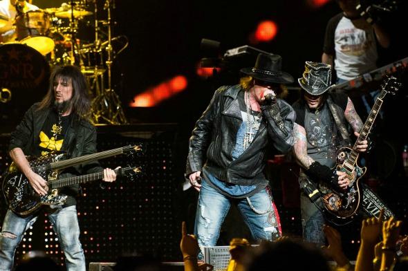 Guns N' Roses - Crédito: Ashley Mar/Divulgação