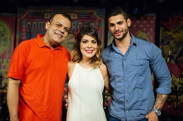 Daniel Rolim, Bella Maia e Rodrigo - Crédito: Flora Pimentel/Divulgação