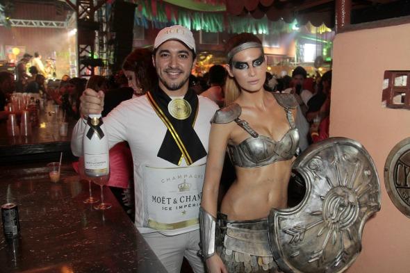 Bil Lucena e Luana Mourato Crédito: Gleyson Ramos/Divulgação