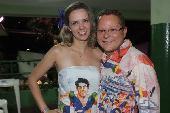 Cecília e André Correia - Crédito: Roberto Ramos/DP DA Press