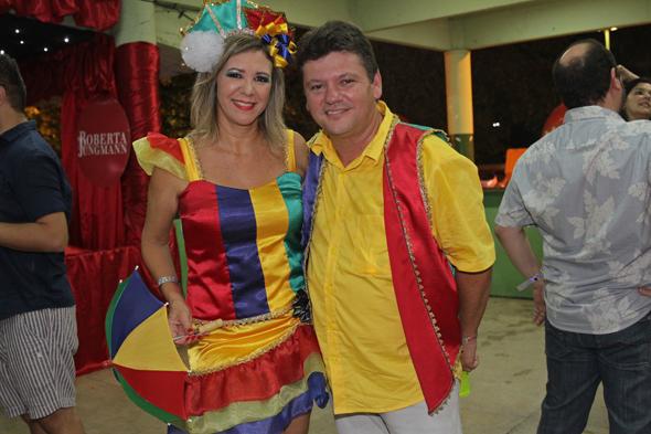 Eduarda e Sileno Guedes - Crédito: Roberto Ramos/DP DA Press