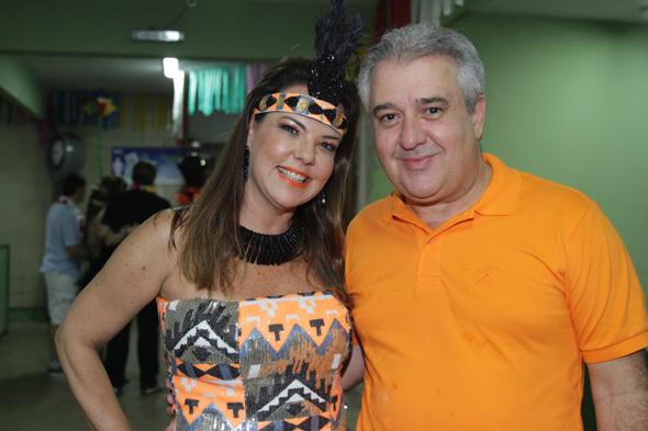Isabela e Augusto Coutinho - Crédito: Roberto Ramos/DP DA Press